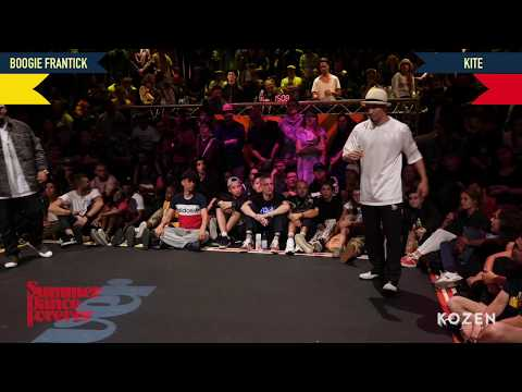 Boogie Frantick vs Kite SEMI FINAL Popping Forever - Summer Dance Forever 2018