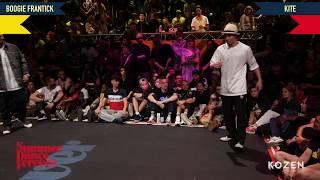 Boogie Frantick vs Kite SEMI FINAL Popping Forever - Summer Dance Forever 2018