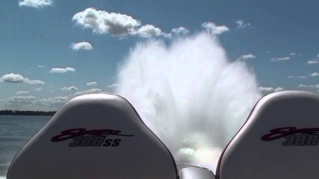 388 Twin Turbo Skater Powerboat