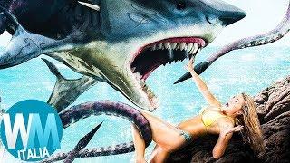 Top 10 FILM più ASSURDI sugli SQUALI!