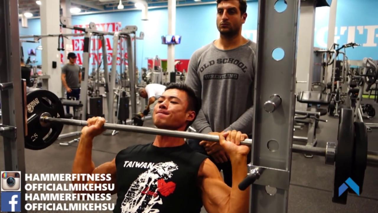 麥克肌塊-肩膀三角肌訓練 Shoulder Workout W/ AmerTheHammer - YouTube