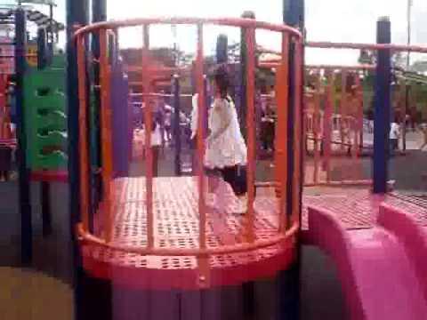 Kids sweetheart enjoy play run around at playground KL MALAYSIA