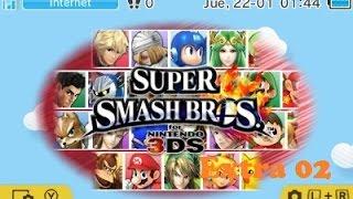Super Smash Bros 4 3DS Narrado en Español Extra 02: Todos los desafios y trofeos
