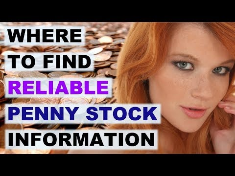 Reliable Penny Stock Information: Where To Find It // OTC Stock Info