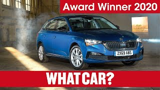 The SKODA Scala wins WhatCar?'s 2020 Family Car of the Year