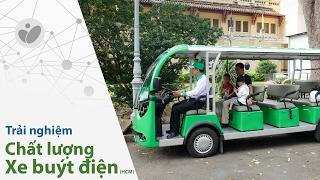 Xe.Tinhte.vn | Trải nghiệm xe buýt điện Mai Linh, tuyến D1: CV 23/9 đi Thảo Cầm Viên