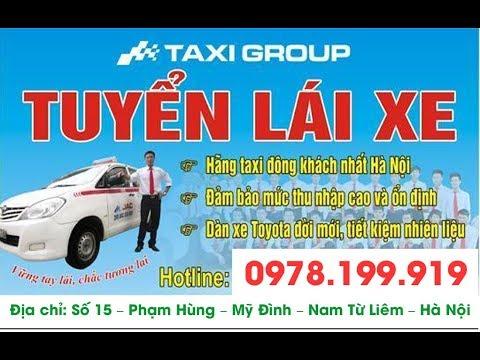 Tuyển 30 LÁI XE TAXI GROUP tại Sân Bay NỘI BÀI   Có nhận lái mới   Lương 10-12 triệu