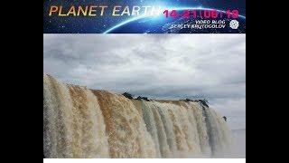 Разрушение плотины Игуасу. Что случилось на планете?  События недели. Катаклизмы природы.