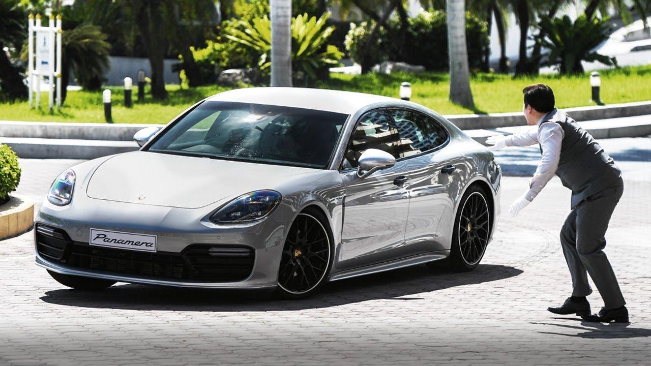 The Valet Prank (feat. the Porsche Panamera)