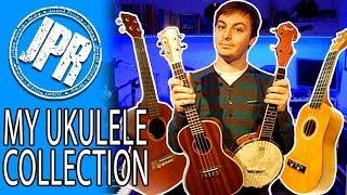 UKULELE COLLECTION - My favourite ukulele's to play!