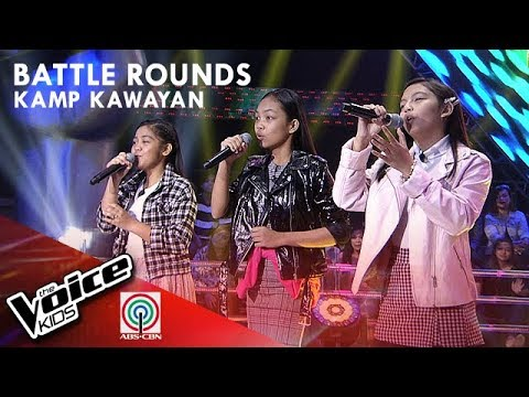 Aya, Gabby, & Carmelle - Everybody Wants To Rule The World | Battle Rounds | The Voice Kids PH