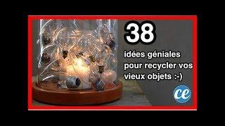 38 Idées Géniales Pour Recycler Vos Vieux Objets Facilement.