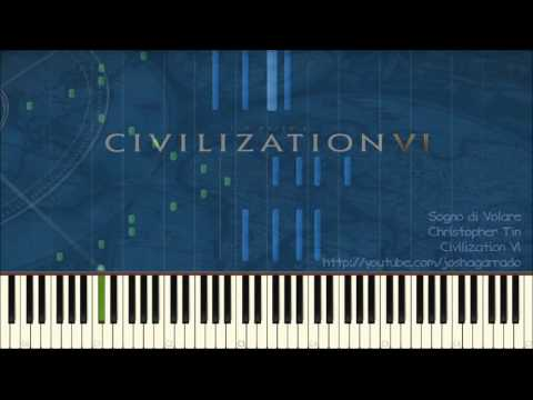 Civilization VI - Sogno di Volare (The Dream of Flight) - piano version