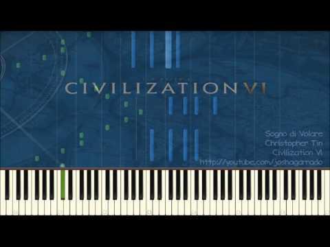 Civilization VI - Sogno di Volare (The Dream of Flight) - piano version