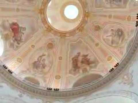 Inside view of restored Frauenkirche, Dresden--2006