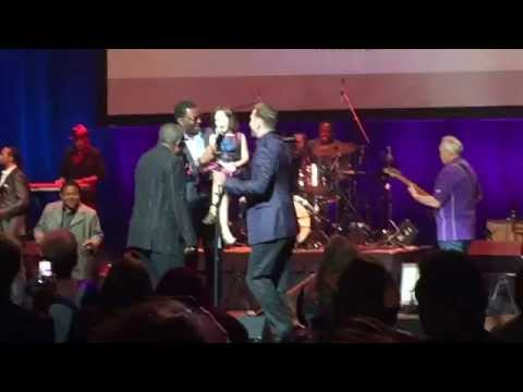 SAM MOORE Honored at MEMPHIS MUSIC HALL OF FAME 2015
