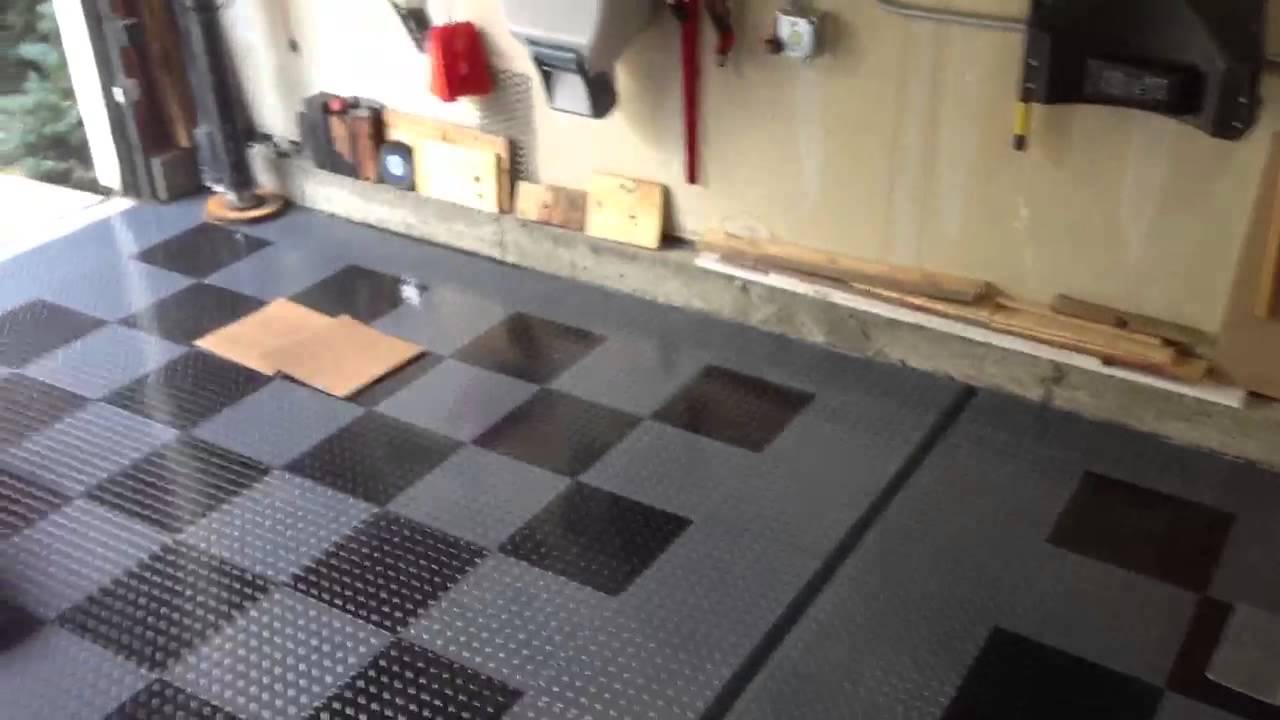 Gfloor raceday garage flooring  YouTube