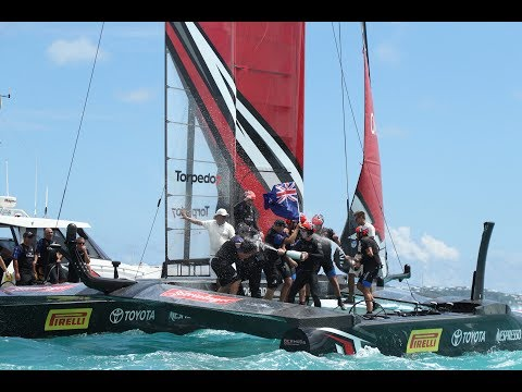 We won the America's Cup