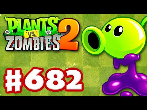 Goo Peashooter New Plant - Plants vs Zombies 2 - Gameplay Walkthrough Part 682