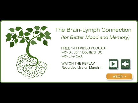 The Brain-Lymph Connection (For Better Mood & Memory)