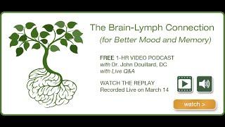 The Brain-Lymph Connection (For Better Mood & Memory)   John Douillard