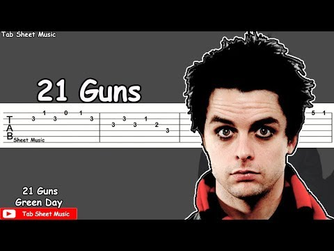 Green Day - 21 Guns Guitar Tutorial
