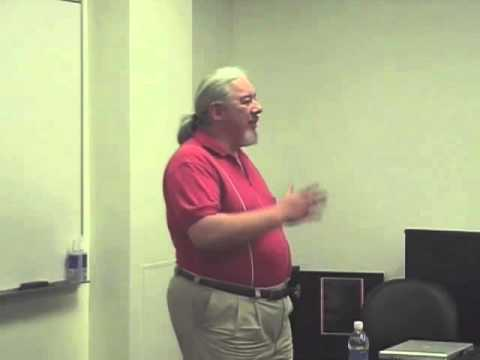 Tom Sito lectures at AI-Inland Empire Part I