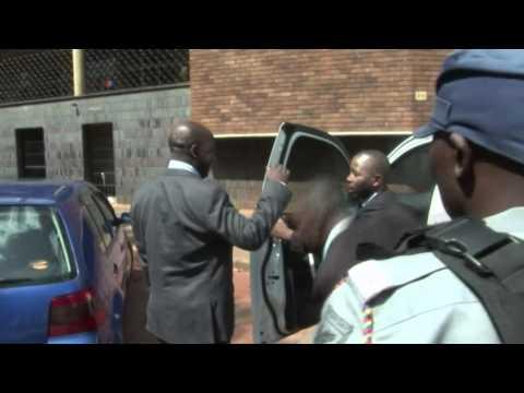 Zimbabwe Prosecutor General Tomana Arrives At Harare Munincipal Court