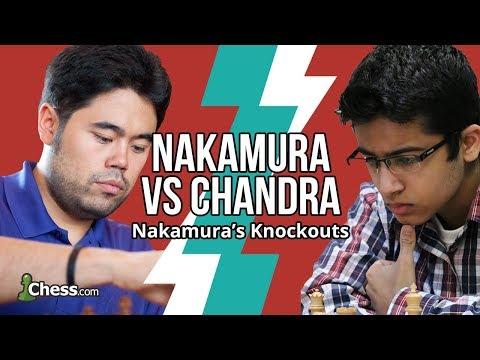 """Nakamura Vs Chandra: """"Terrible"""" Blitz Chess Blunders"""