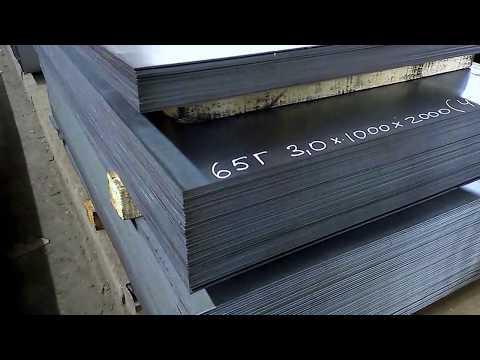 Лист г/к 65г. 3*1000*2000 мм TONMET HOLDING