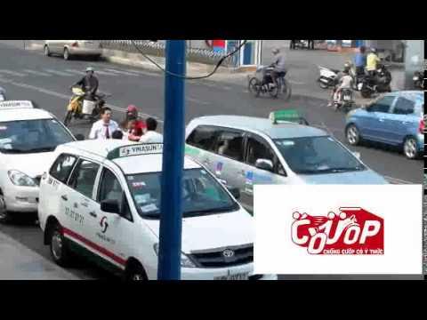 Clip tai xe taxi VINASUN danh nhau   cuop vn
