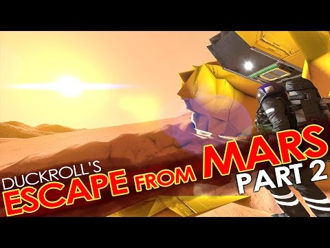 Space Engineers - ESCAPE FROM MARS #2! - COOP Style. ('Hardcore' Roleplay Mission/Scenario)