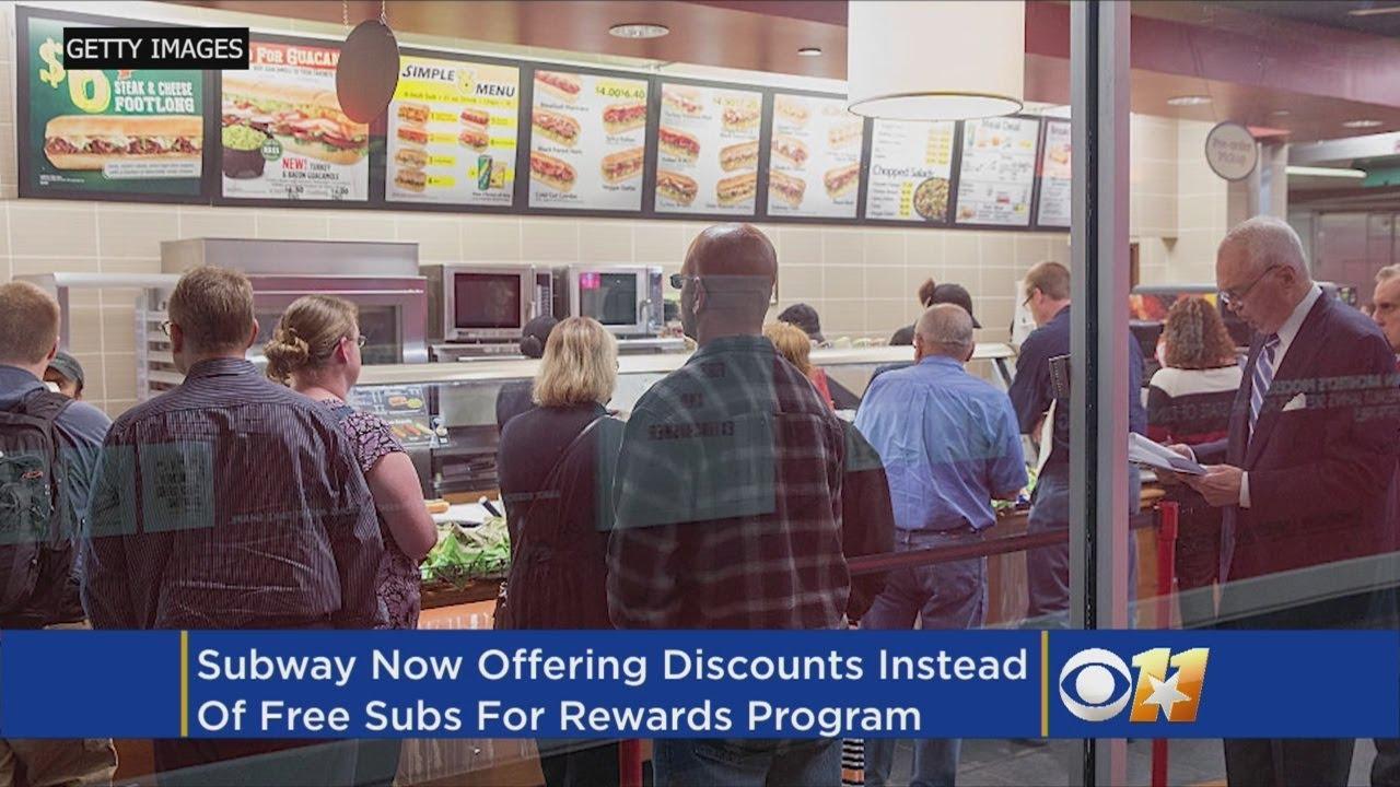 Subway Shaking Up Its Rewards Program (So Long, Free Footlongs)