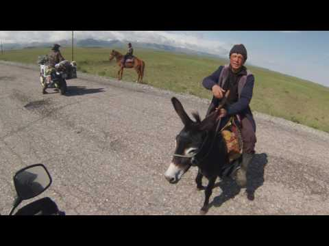 Pamir highway (Central Asia) motorcycle tour
