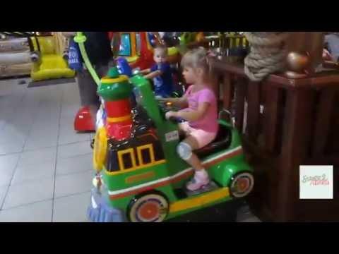 Indoor playroom funland 4kids VLOG Развлекательный центр Остров Развлечений  детские аттракционы