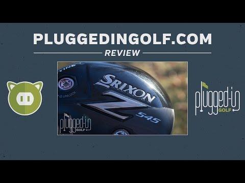 Srixon Z 545 Driver Review - PluggedInGolf.com