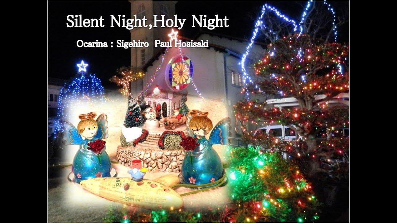 "Christmas song ""Silent night, holy night"" - Ocarina Spiritual Sound of Merry Xmas - YouTube"