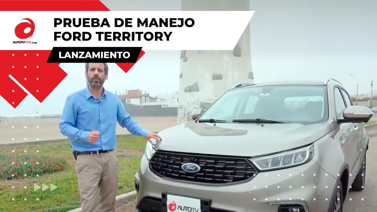 Prueba de manejo a la nueva Ford Territory