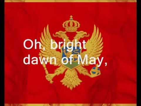 Crna Gora Montenegro National Anthem ORIGINAL with english subtitle