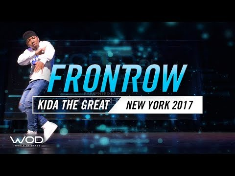 Kida the Great   FrontRow   World of Dance New York 2017   #WODNY17