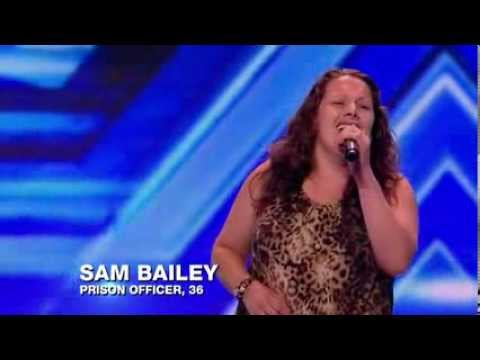 Sam Bailey - Who's Lovin' You (Audition 2 - The X Factor UK