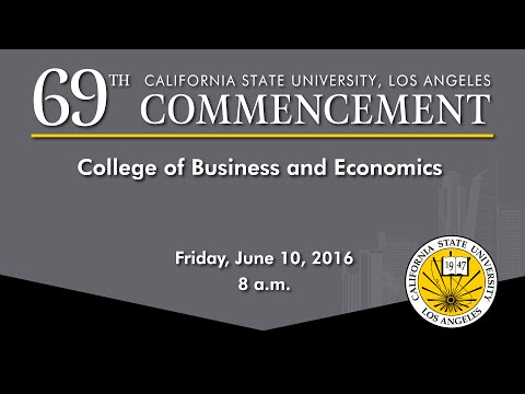 Commencement - Friday, June 10, 2016- 8am