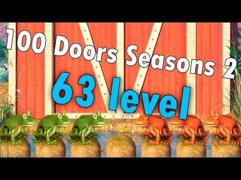 63 уровень - 100 Doors Seasons 2 (100 Дверей Сезоны 2) прохождение