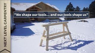 Build these Professional Carpenter's Sawhorses