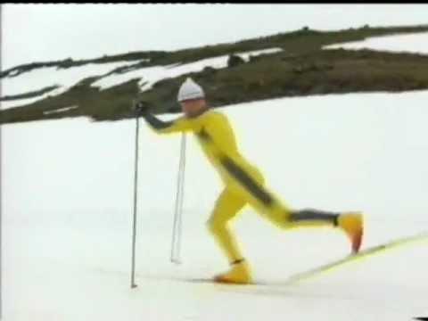 klassisk skiteknikk med Bjørn Dæhlie