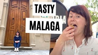 Where do the locals eat in MALAGA? Farm to table + Antonio Banderas Table | Travel Vlog 2021