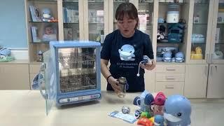Hướng dẫn cách sử dụng máy tiệt trùng - sấy khô bình sữa bằng tia UV KUKU KU9014