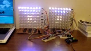 8x8x8 RGB LED Cube - common cathode vs common anode