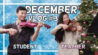 LEARNING CHRISTMAS MUSIC ON VIOLIN | HOLIDAY CHALLENGE pt. 3