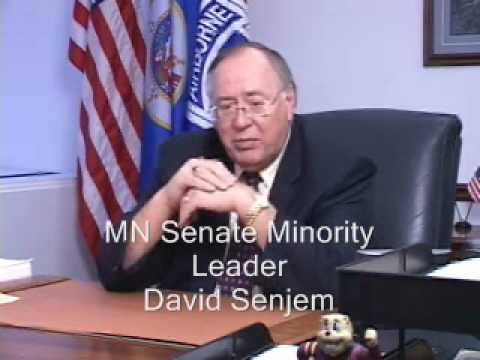 MN Senate Minority Leader David Senjem on the Economic Forecast